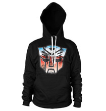 TRANSFORMERS: Distressed Autobot Shield Hoodie (Black)