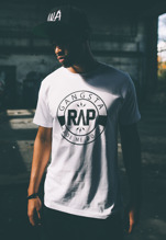 Gangsta Rap Tee - white (XL)