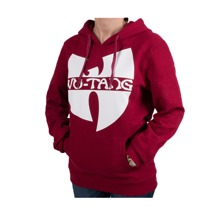 Wu-Wear: Wu-Tang Clan Ladies Logo Hoodie - burgundy/white