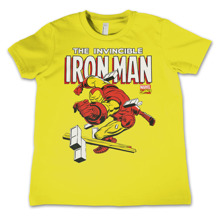 The Invincible Iron Man Kids T-Shirt (Yellow)
