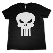 The Punisher Skull Kids T-Shirt (Black) (8 år)
