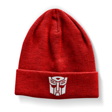 Transformers Autobot Beanie (Red)