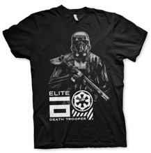 STAR WARS: Elite Death Trooper Unisex T-Shirt (Black) (XXL)