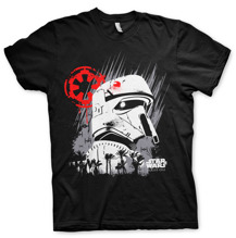 STAR WARS: Rouge One Shore Trooper Unisex T-Shirt (Black)