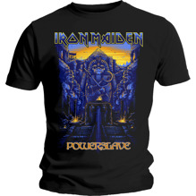 Iron Maiden: Dark Ink Powerslaves T-shirt - black