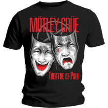 Mötley Crue: Theatre of Pain Cry Unisex T-shirt - black