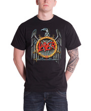 SLAYER: Silver Eagle Unisex T-shirt (black) (XL)