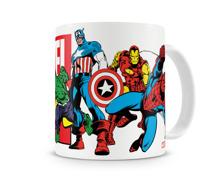 MARVEL COMICS - HEROES COFFEE MUG