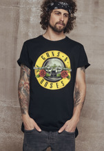Guns n' Roses Logo Tee - black