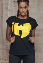 Wu-Wear: Ladies Wu-Wear Logo T-shirt - black