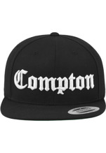 Compton Snapback - black/white