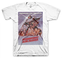 STAR WARS - Stjärnornas Krig - Rymdimperiet Slår Tillbaka Unisex T-Shirt (White) (S)
