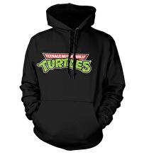 TEENAGE MUTANT NINJA TURTLES: Classic Logo Hoodie (Black)