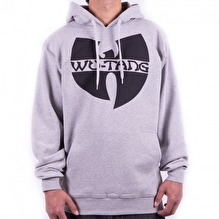 Wu-Wear: Wu-Tang Clan Logo Hoodie - grey/black (S)