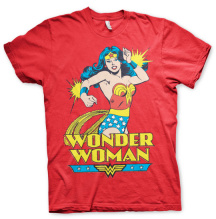 Wonder Woman Unisex T-Shirt (Red) (M)