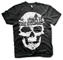 THE GOONIES Skull Unisex T-Shirt (black) (S)