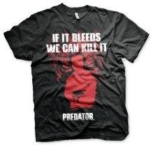 PREDATOR If It Bleeds, We Can Kill It Unisex T-Shirt (black)