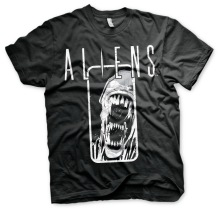 ALIENS Distressed Unisex T-Shirt (black)