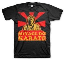KARATE KID: Miyagi Do Karate T-Shirt (black)