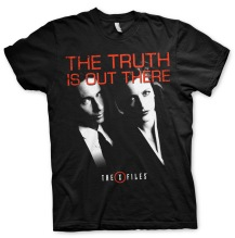 The X-Files - The Truth Is Out There Unisex T-Shirt (black)