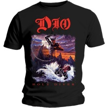 Dio: Holy Diver Unisex T-shirt - black (XL)