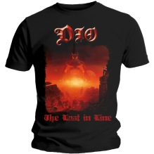 DIO: The Last In Line Unisex T-shirt (black)
