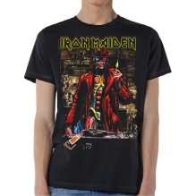 Iron Maiden: Stranger In A Strange Land Sepia Unisex T-shirt - black