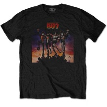 KISS:  Destroyer Unisex T-shirt - black
