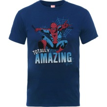 The Amazing Spiderman Kids T-shirt (navy)