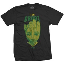 MARVEL: Guardians of the Galaxy Vol. 2 I am Groot T-shirt (black)
