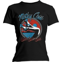 MÖTLEY CRUE: Ladies Heels V.3.  T-shirt (black)