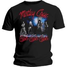 Mötley Crue: Smokey Street Unisex T-shirt - black