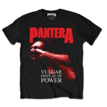 PANTERA:  Vulgar Display Of Power Unisex T-shirt - black