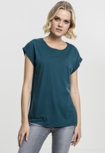 Urban Classics: Ladies Extended Shoulder Tee - teal