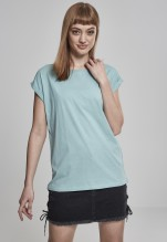 Urban Classics: Ladies Extended Shoulder Tee - bluemint (M)