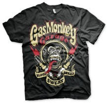 Gas Monkey Garage - Spark Plugs Unisex T-Shirt (Black)