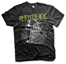 Beetlejuice Headstone Unisex T-Shirt (Black)