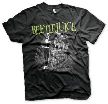 Beetlejuice Headstone T-Shirt (Black)