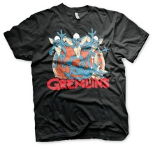 Gremlins: Group Unisex T-Shirt (Black)