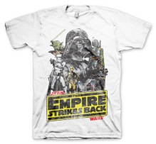 STAR WARS: The Empire Strikes Back Unisex T-Shirt (White)