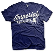STAR WARS: Varsity Imperial Stormtroopers T-Shirt (Navy)