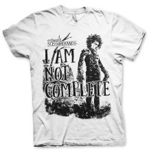 Edward Scissorhands: I Am Not Complete Unisex T-Shirt (White)