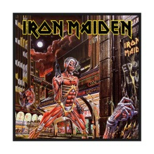 IRON MAIDEN: Somewhere In Time Standard Patch (tygmärke)