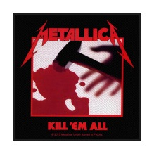 METALLICA: Kill ´Em All Standard Patch (tygmärke)