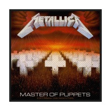 METALLICA: Master Of Puppets Standard Patch (tygmärke)
