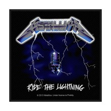 METALLICA: Ride The Lightning Standard Patch (tygmärke)