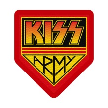 KISS Army Standard Patch (tygmärke)