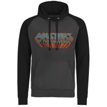 Masters Of The Universe - Washed Logo Baseball Hoodie (charcoal/black)