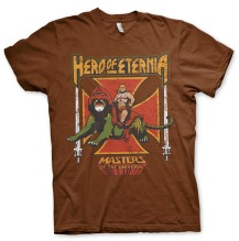 Masters Of The Universe - Hero Of Eternia Unisex T-Shirt (Brown)