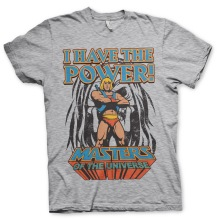 Masters Of The Universe - I Have The Power Unisex T-Shirt (H.Grey)